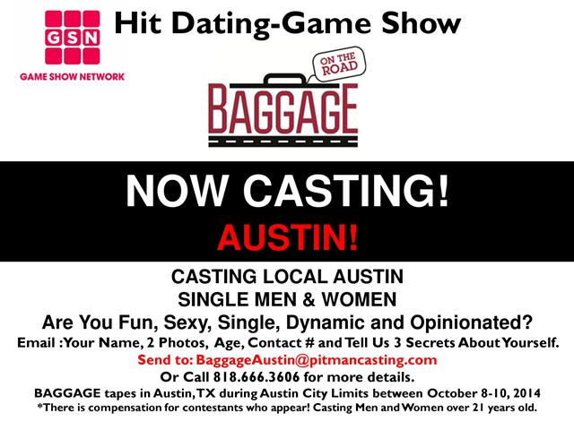 Casting dating game show BAGGAGE