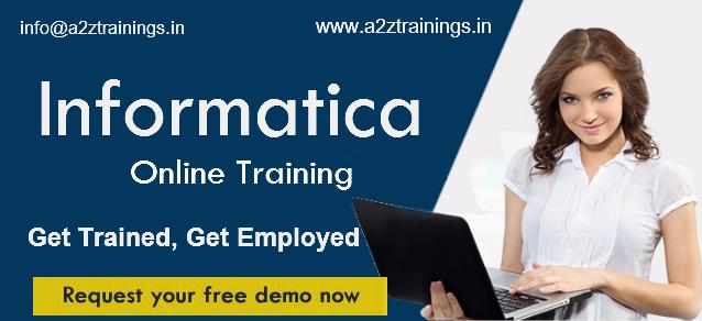 Online Informatica Training by industry workforce