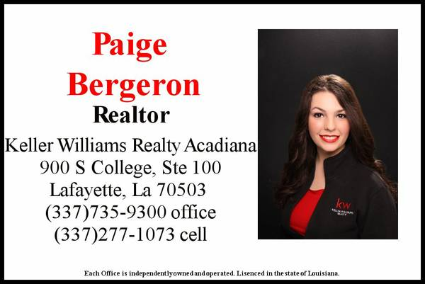 Search Acadiana MLS HERE