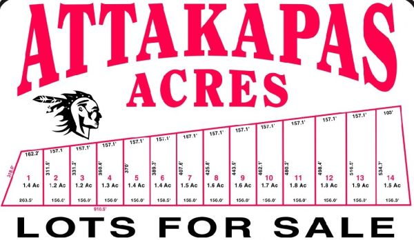 $29900 ATTAKAPAS ACRES - Mobile Homes Allowed (Carencro Owner Financing)