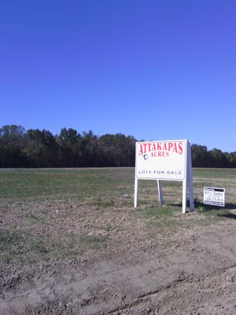 - $28500 MOBILE HOMES ALLOWED OWNER FINANCING LOTS. (CARENCRO)