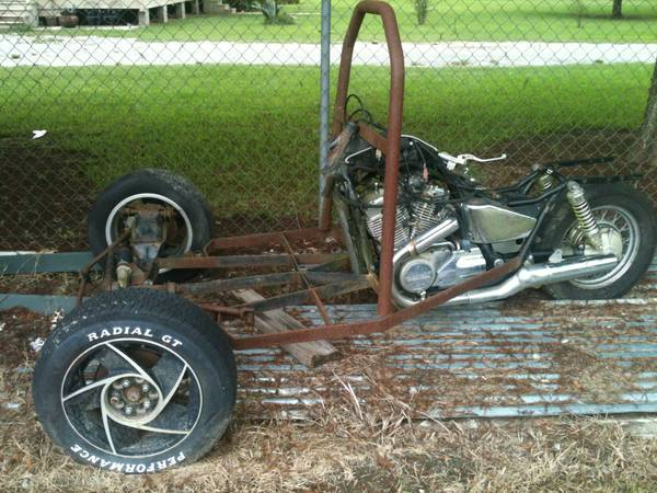 Project three wheel trike   Parks