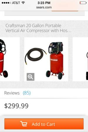 Craftsman 20gal trade sell -   x0024 200