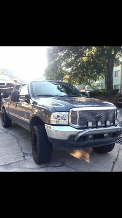 2004 f250 diesel trade for Jeep Wrangler  -   x0024 17000  Lafayette la