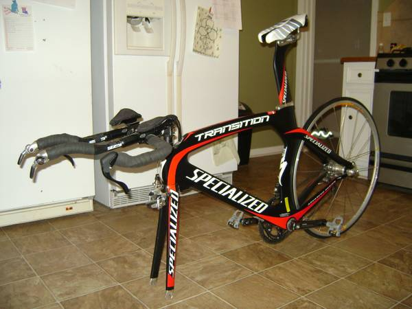 2008 Specialized Transition (Expert comp.) - $1850 (Eunice)