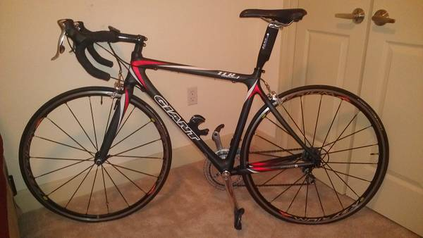 Giant TCR1 Composite road bike - $1500 (Lafayette)