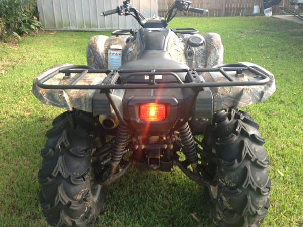 Yamaha Grizzly 700 Power Steering Camo - $5700 (BR)