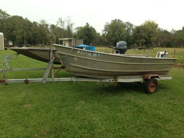 CRAWFISH SKIFF - $3000 (ST. MARTINVILLE)
