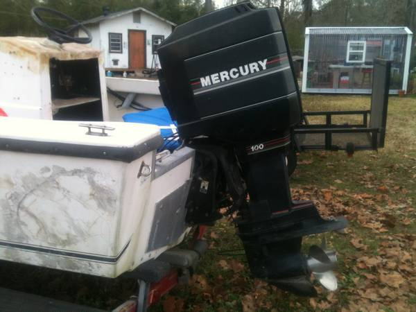 100 H.P mercury ob motor - $1200 (Forest Hill, La.)