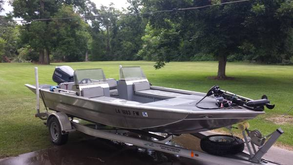 2010 19 Sportsman Fabrication Custom Made FishSki for sale - $22000 (Lafayette)