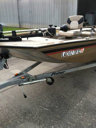 2005 Fisher Welded Alum Sac-A-Lait  Bass Boat - $9500 (Jennings)