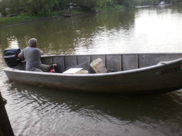 Crawfish Skiff traps - $5500 (Bayou Sorrel Louisiana)