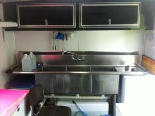 snow cone concession trailer - $12500 (egan)