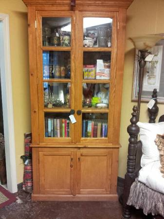 BEAUTIFUL CUSTOM MADE HUTCH OR PANTRY - $500 (ROOSTERS ANTIQUE MARKET)
