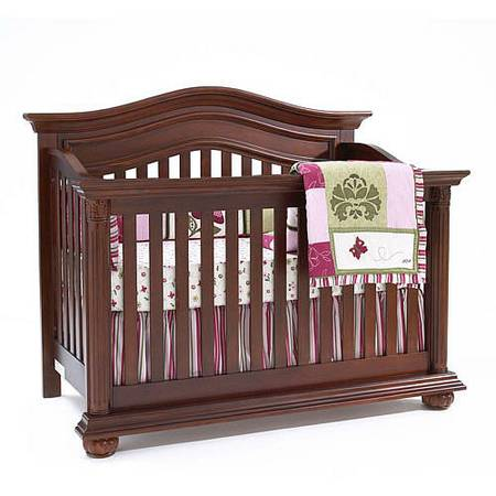 Baby Cache Heritage Lifetime Convertible Crib - Cherry - x0024225 (St martinville )