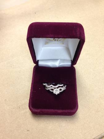 Wedding Band and Engagement Ring -   x0024 3500  New Iberia