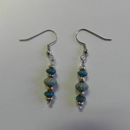 Earrings  original  handmade  one-of-a-kind  -   x0024 6  Mouton Cove  south of Abbeville