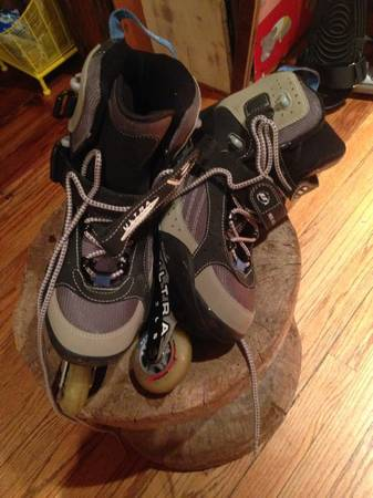 Mens Roller Blades Ultra Wheels Max 80 MM US size 11 - $35 (Lafayette, La)