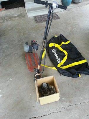 Goped Sport gas scooter - $275 (lafayette)