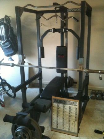 Weider Club C650 Weight Bench - $400 (Lafayette, LA)