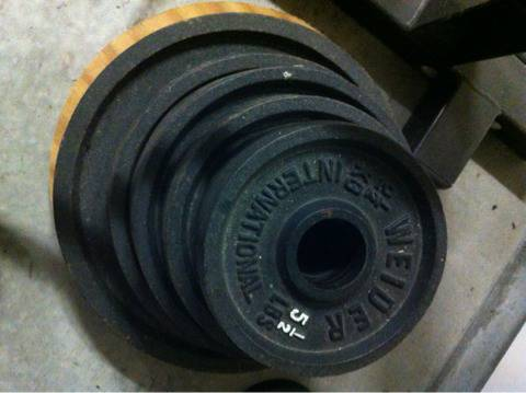 Weight Set - $140 (Youngsville Lafayette)