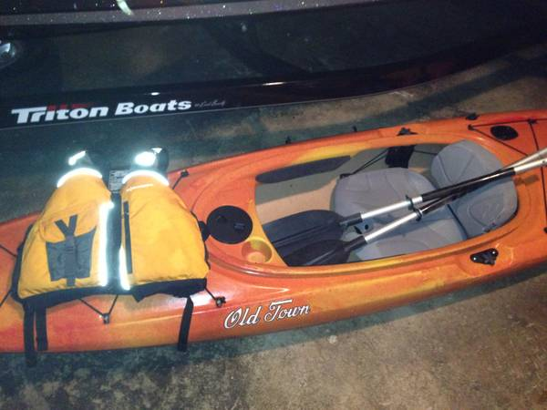 12ft Dirigo Old Town fishing kayak