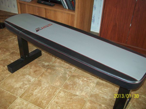 exertec weight bench with weights - $100 (church point)
