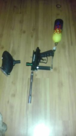 VL Triad Paintball Gun  Custom painted 20 oz Cannister - $80 (lafayette)