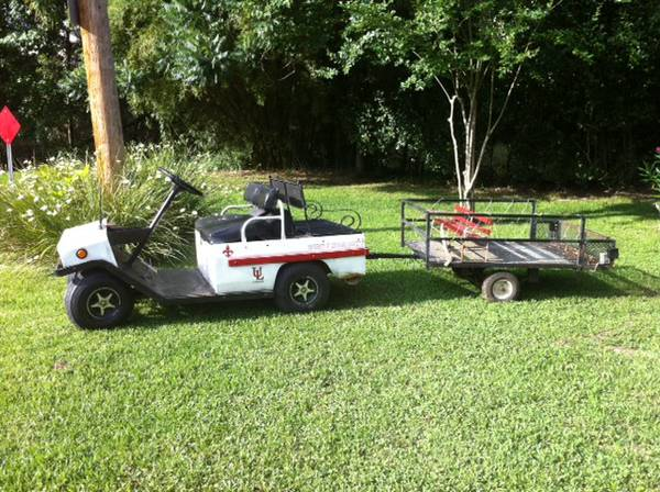 1970s Cushman utility cart wcharger - $1350 (Lafayette )