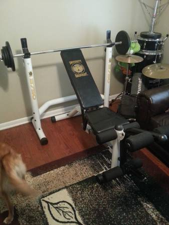 UNIVERSITY EQUIPMENT WEIGHT BENCH - $200 (Lafayette)