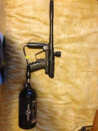 Smart parts ion paintball gun with tank - $250 (Lafayette )
