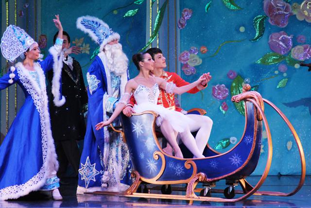 Moscow Ballets Great Russian Nutcracker Tickets at Heymann Performing Arts Center on 11122015