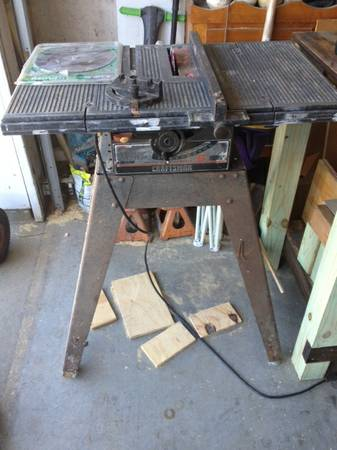 Craftsman 8 Table Saw - x002460 (Youngsville)
