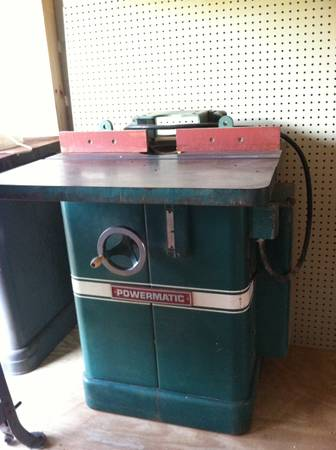 Powermatic shaper model 26 - $600 (Abbeville)