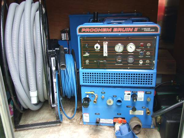 Truck Mount Carpet Cleaner Prochem Bruin II Great Cond - $7000 (Lafayette)