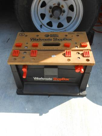 BLACK DECKER WORKMATE SHOPBOX - $15 (BROUSSARD)