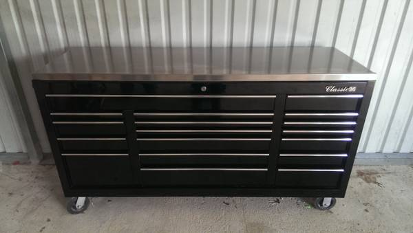 Snap-On Classic 96 Tool Box with Staineless Top - x00242000 (Mire, LA)
