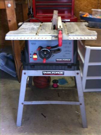 Task Force 10 Table Saw - $35 (Youngsville)
