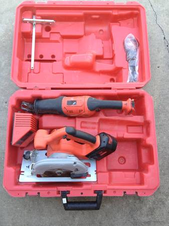 Milwaukee 18V Cordless Heavy-duty Circular Saw Sawzall in Hard Case - $140 (Broussard)