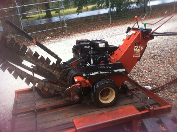 Ditch witch 1230 for sale