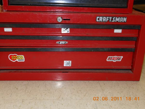 Craftsman 3 Drawer Tool Chest for sale - $150 (418 Bertrand Dr., Lafayette, LA)