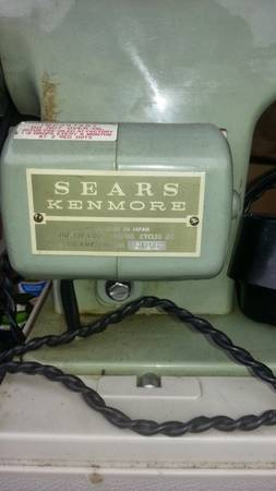 Vintage Sewing Machine - $75