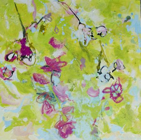 Orchids II Painting by Alba Escayo -   x0024 700  youngsville