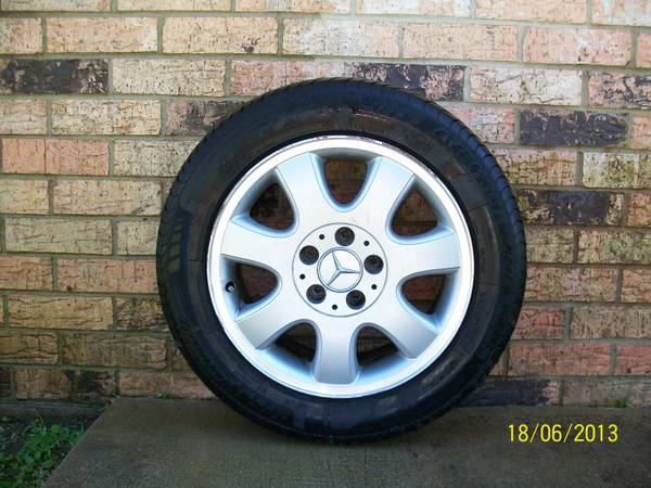 Factory Mercedes Wheels Tires - $350 (Lafayette)