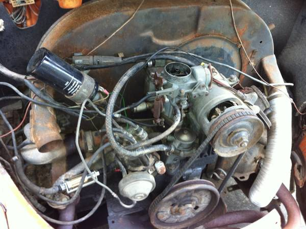 Vw 1600cc engine and 4 speed trans - $600 (Lafayette )