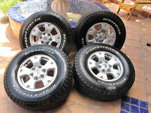 Toyota Tacoma TRD Wheels and Tires - $800 (Lafayette)
