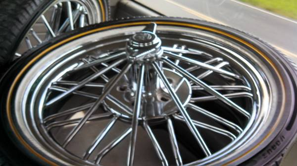 22 inch vogue tires and rims for sale
