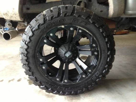 Open Country Toyo MT. 37 -13.50 R22LT. Rims and tires - $2500 (Carencro. La)