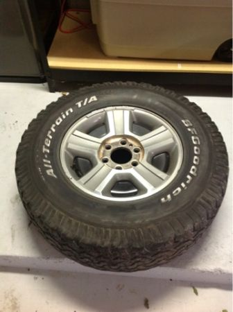 F150 Tires and Wheels OEM - $300 (Broussard)