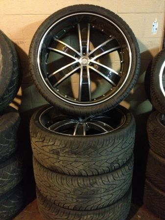 26 Velocity Rims And Dcenti Tires - $1800 (Lafayette)